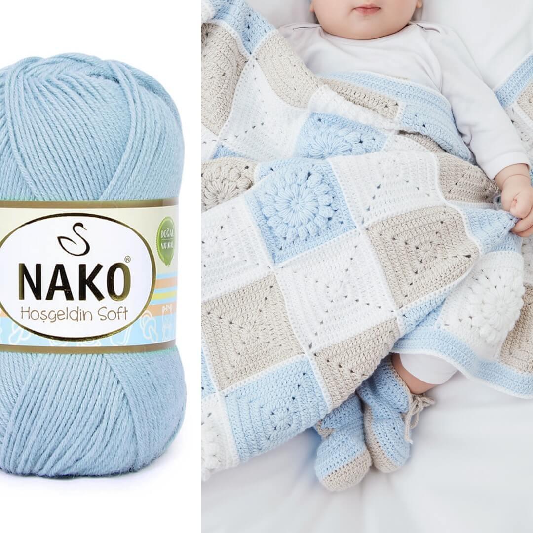Nako Hosgeldin Soft - Baby Decke